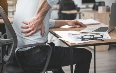 Praca siedząca (siedzący tryb życia) a ból pleców (ból kręgosłupa)