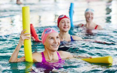 Aqua aerobik (aerobik w wodzie) i wpływ na układ ruchu