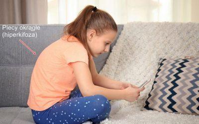 Plecy okrągłe u dzieci (hiperkifoza piersiowa) – objawy, przyczyny, leczenie, rehabilitacja